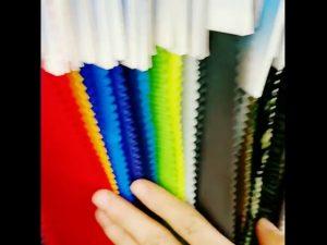 160 डी निविड़ अंधकार 10000 मिमी नायलॉन taslan टुकड़े टुकड़े tricot अस्तर कपड़े