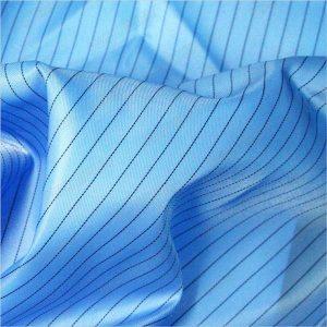 5mm-धारी टवील-पॉलिएस्टर-विरोधी स्थैतिक बुना-कपड़े