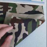 सैन्य वर्दी के लिए छद्म पैटर्न 80/20 कपास पॉलिएस्टर टवील कपड़े