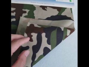 सैन्य वर्दी के लिए छद्म पैटर्न 8020 कपास पॉलिएस्टर टवील कपड़े