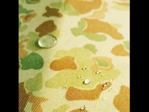 चीन कारखाने 1000 denier कॉर्डुरा मुद्रित नायलॉन कपड़े पानी प्रतिरोधी के साथ मुद्रित