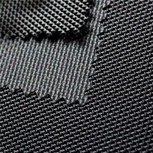 पेंचर प्रतिरोधी पु बैग बैग के लिए 1680 डी बैलिस्टिक नायलॉन कपड़े लेपित