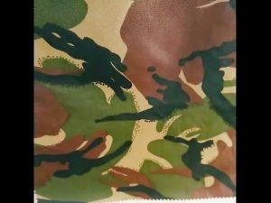 छद्म मुद्रित जलरोधक ripstop नायलॉन ऑक्सफोर्ड वर्दी सैन्य कपड़े मुद्रित