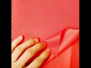 चीन कपड़े बाजार थोक तम्बू बैकपैक के लिए 100% पॉलिएस्टर ऑक्सफोर्ड पु कपड़े